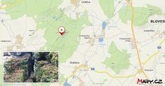 Čertovo břemeno je přes 1 km dlouhý skalní hřbet. Je tvořen rozpukanými skalami a sutí, najdeme zde i převisy a viklan.Toto místo je druhá zastávka... Map, Location Map, Peta, Maps