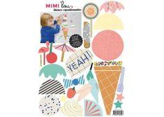 Farbenfroher Wandaufkleber 'Ice Dream' MIMI'lou | Kindershop Das Kleine Zebra