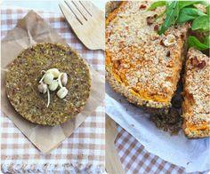 Green recipes entre amis: Quiche complète aux lentilles et sarrasin grillé
