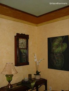 Ragged Off Faux Finish. Create the look of sandstone for your walls. By Urban Revivals LLC