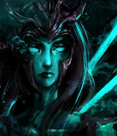 Kalista by Marine1509 Kalista League Of Legends, Game Character, Game Art, Fantasy Art, Lol, Cosplay, Drawings, Artist, Dota 2