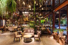 曼谷旅遊新景點: 結合工業與園藝的特色叢林餐廳!