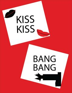 Saul Bass Movie Posters   So Happy I could Die: Saul Bass Inspired Movie Poster