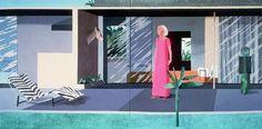 'Beverly Hills Housewife', David Hockney