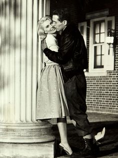 """Paul Newman and Joanne Woodward on the set of """"From the Terrace"""", 1960"""
