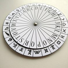 Symbols Spy Decoder Cipher Wheel Printable - Ancient Writings Secret Agent Coded Message Encoder Decryption Digital File Spy Games, Mystery Games, Mystery Parties, Escape Room, Ciphers And Codes, Cipher Wheel, Spy Party, Clue Party, Indoor Activities For Kids