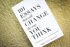 101 Essays That Will Change The Way You Think | Shop Catalog