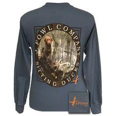 J. Fowl Co. Sitting Duck Lab Unisex Long Sleeves T-Shirt
