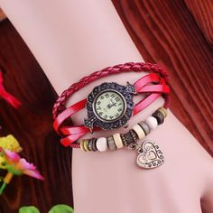 Movement Type: quartz watch     Watch Type: Ladies Watch     Watch style: Classic, Retro     Strap Material: Leather     Dial Shape: Square     Display Type: Digital     Release Date: 2013     Color: black, dark coffee, red, blue, orange     Condition: New     Case Material: Alloy     N...