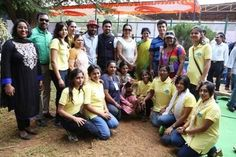 TBS Team along with others during Colorothon Event #preschool #daycare #nursery #Whitefield #Bangalore #India #playschool #kindergarten #colorothon
