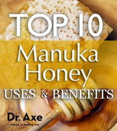 Manuka Honey Uses and Health Benefits Title http://www.draxe.com #health #holistic #natural
