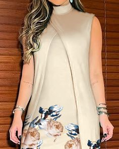 15 Dresses, Dresses Online, Chic Type, Platform Wedge Sandals, Asymmetrical Dress, S Models, Short Outfits, Fashion Outfits, Womens Fashion