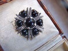 Jewellery Uk, Jewelry, Black Agate, Vintage Signs, Brooch Pin, Celtic, Brooch, Jewlery, Jewerly