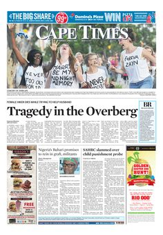 News making headlines: Tragedy in the Overberg