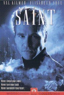 The Saint, this film came out in 1997. Starring Val Kilmer and Elisabeth Shue, it's a great action/romance. Full of drama and some witty lines. Based on the series by Leslie Charteris.