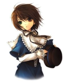Rozen Maiden, Souseiseki. One my favorite Rozen Maidens. Loyal, calm, cool and collected.