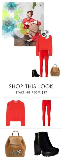 """""""Untitled #1406"""" by angelworlds21 ❤ liked on Polyvore featuring Balenciaga, Love Moschino and N°21"""