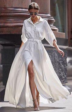 I like the dress but I would probably like a midi not a full length