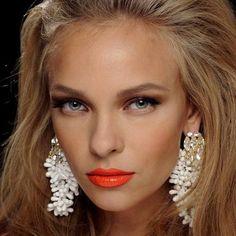 Bold Lip Statement Earrings