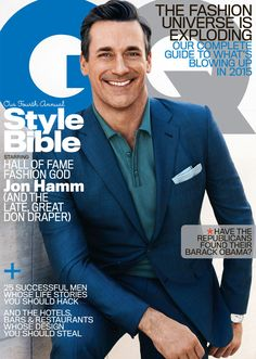 Jon Hamm covers GQ Style Bible.