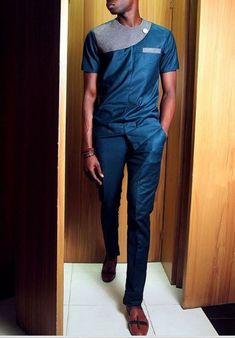 Classiest senator styles for nigerian men, trendy native senator style for every man Nigerian Men Fashion, African Print Fashion, Africa Fashion, African Attire, African Wear, African Dress, African Shirts For Men, Native Wears, Printed Shirts