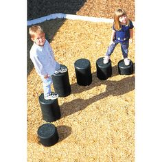 As important as it is for children to swing and slide, it is equally as important that they engage in activities that will help to strengthen developing muscles. The Individual Rubber Balance Post by Child Works will inspire climbing, thereby offering an outlet for the exercises that they need. When placed in a row, children can jump from one to the next allowing them to increase their heart rate, improve coordination, and gain confidence. Regardless of size, these posts have a 10-inch…