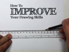 Disappointed by your doodles, and wish you could draw better? Michael is here to show you a great way to practice shapes and improve your drawing skills.