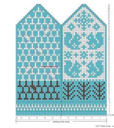 STRICKEN FÜR VERRÜCKTE | VK Knitting Charts, Knitting Socks, Knitting Stitches, Baby Knitting, Knitting Patterns, Knitted Mittens Pattern, Crochet Mittens, Crochet Gloves, Knit Art
