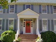 Painted Room Exteriors - traditional - exterior - dc metro - Jean Molesworth Kee