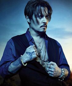 Johnny Depp Stars in New Dior Sauvage Fragrance Campaign - Johnny Depp Stars in New Dior Sauvage Fragrance Campaign Men's Fashion, Style & EntertainmentYou - Jonh Deep, Johnny Depp Pictures, Beat Generation, My Idol, Actors & Actresses, Hot Actors, Beautiful Men, Handsome, Hair Styles