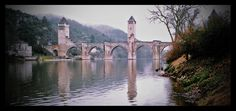 AFAR.com Highlight: outwitting the Devil for a bridge by Joseph Cyr.  Cahors, France.  Bridge was built in the 1370's.