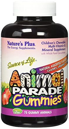 Natures Plus AP Gummies Assorted Tablets 75 Count -- Click on the image for additional details.