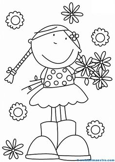 Create, customize and print custom coloring pages. Leverage Brother Creative Center's coloring pages templates for Flowers for Mom. Colouring Pages, Coloring Sheets, Coloring Books, Flowers For Mom, Doodles, Mothers Day Crafts, Digital Stamps, Fabric Painting, Doodle Art