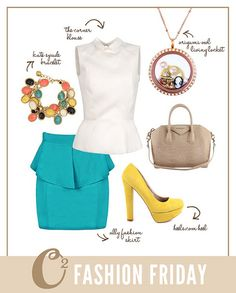 The Origami Owl vintage inspired look! Http://Adriana.origamiowl.com