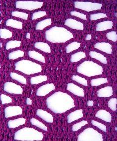 30 Patterns of Points and Stitches Openwork Crochet Crochet Bikini Pattern, Crochet Lace Edging, Crochet Diagram, Crochet Stitches Patterns, Crochet Chart, Crochet Designs, Crochet Doilies, Crochet Flowers, Free Crochet