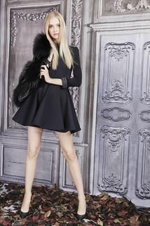 Philipp Plein Pre-Fall 2015 - Collection -long sleeved black dress