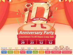 banggood, anniversary, 10th anniversary, big sale, snap up