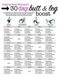 A year's worth of 30 Day Challenges to get your new year started off right
