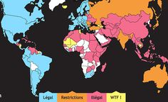 Laws regarding porn in the world.