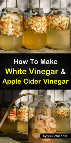 Learn how to make white vinegar and apple cider vinegar from scratch! You'll never run out of this staple again once you've perfected these easy recipes. Making Apple Cider, Make Apple Cider Vinegar, How To Make Vinegar, Vinegar Salad Dressing, Natural Cold Remedies, Herbal Remedies, Arthritis Remedies, Holistic Remedies, Fermented Foods