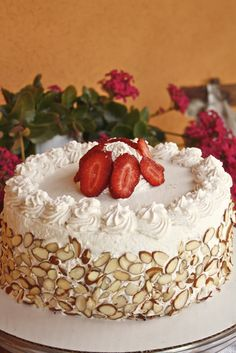 Italian Rum Cake every holiday, every birthday we had one of these! love love love