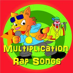 Master multiplication with Multiplication Rap songs!