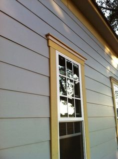 image result for decorative window trim with lap siding home plans