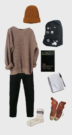 Fall - Fall The Effective Pictures We Offer You About outfits classy A quality picture can tell yo - Outfits For Teens, Fall Outfits, Casual Outfits, Fashion Outfits, Womens Fashion, Tomboy Outfits, 90s Fashion, Fashion Fall, Fashion Clothes