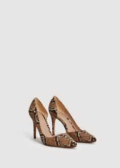fcc907184a1b Mango Snake-Finish Pumps - Women