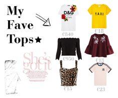 """My fave #5"" by joy-beltman on Polyvore featuring mode, Compañia Fantastica, Dolce&Gabbana, Alexander McQueen en adidas"