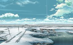 Makoto Shinkai The Place Promised in Our Early Days
