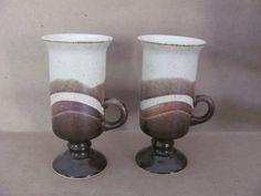 Vintage Avon, Vintage Items, 1970s Decor, Vintage Coffee Cups, Irish Coffee Mugs, Swirl Design, Mid Century House, Home Decor Items, Vintage Ceramic