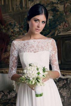 Couture Hayez ambienta i suoi abiti da sposa in una location da sogno