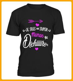 Je suis une super maman FTE des MRES - Shirts für neffen und nichten (*Partner-Link)
